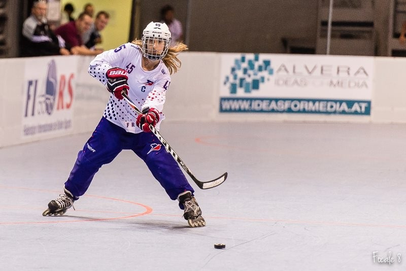 Roller hockey France : rencontre avec Marina Fagoaga