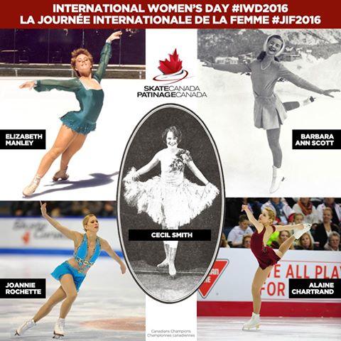 La fédération canadienne de patinage artistique revient sur ses championnes à travers l'Histoire