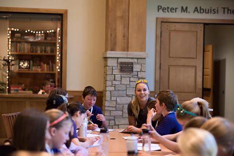 Ski : Lindsey Vonn aime partager son expérience avec les plus jeunes
